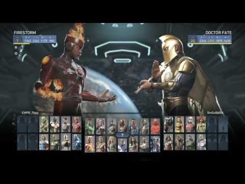 OMGxBDON (The Best Dr Fate) vs Empr Theo (Aquaman) FT10 Injustice 2