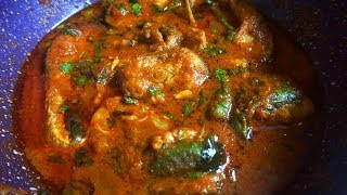 andhra chepala pulusu / fish curry andhra style / how to make fish curry