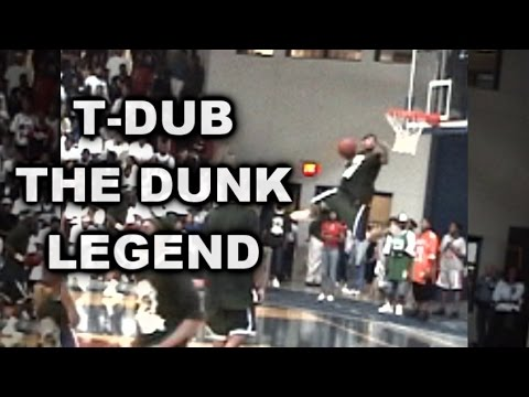 """5'9"""" Dunk Legend T-Dub SHOWS OUT in 2005 High School All-Star Game"""