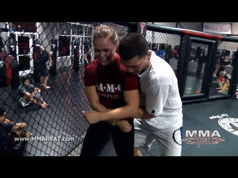 MMA + Judo Training with UFC's Nick + Nate Diaz, Ronda Rouse