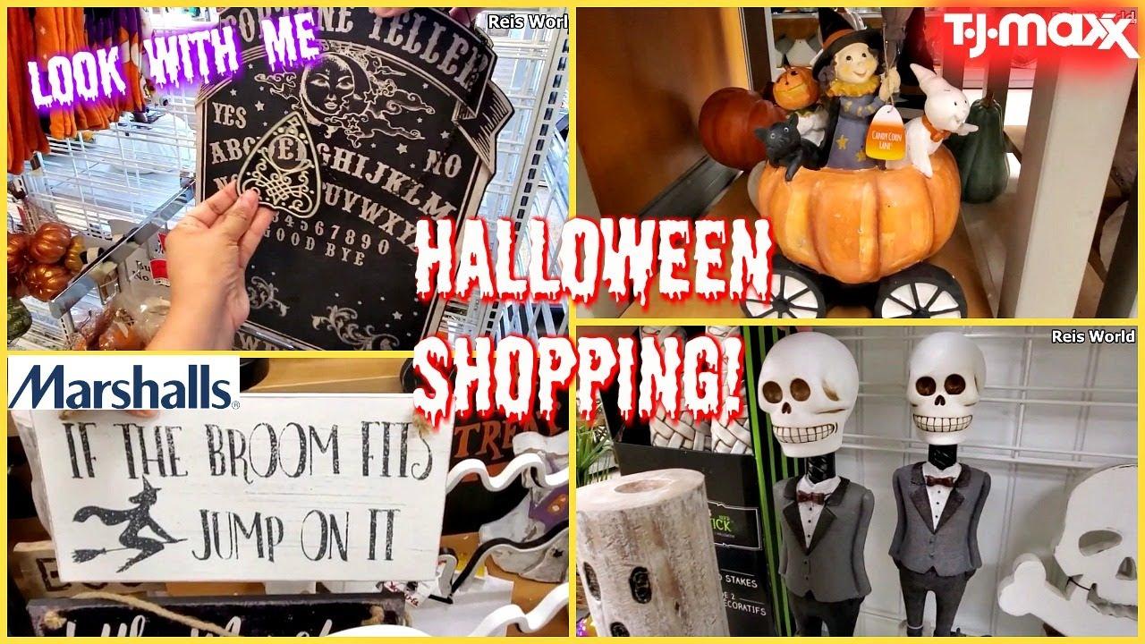 Homegoods 2020 Halloween HALLOWEEN SHOPPING AT TJ MAXX & ROSS STORE WALKTHROUGH   YouTube
