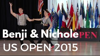 Benji Schwimmer & Nicole Clonch // US Open Swing Dance Championships 2015