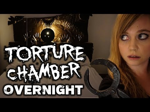 OVERNIGHT In A TORTURE CHAMBER | Paranormal Investigation | Lagow, Poland