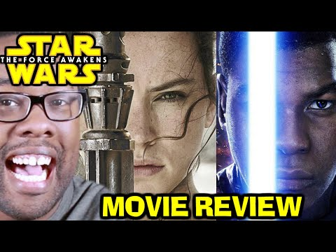 STAR WARS The Force Awakens NO SPOILERS REVIEW : Black Nerd