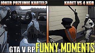 GTA V RP[JOKER PRZEJMIE KARTEL?/KADET VS 4 KGB/TWOJA MAMA PIJANA/SPADINO ODSTRZELA RUSKA/KOŃ] [FM]