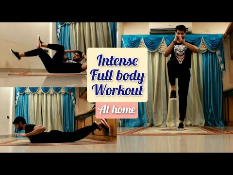 intense-full-body-workout-at-home-|-no-equipment-|-muscle-earner