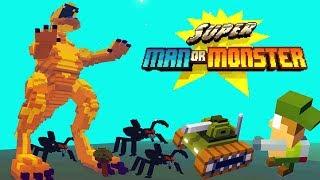 АТАКА МОНСТРОВ! СУПЕРМЕН ПРОТИВ МУТАНТОВ Мульт игра Super Man Or Monster от Cool GAMES