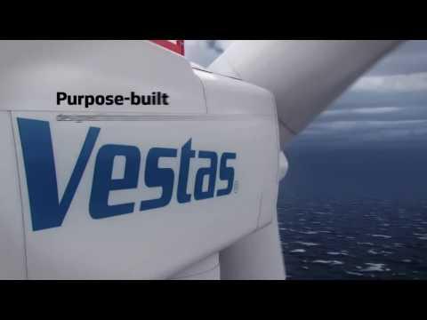 Globalfuturist.org: Vestas V164 8 0 MW #wind turbine a game changer in offshore