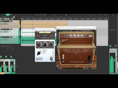 How to sound SHOEGAZE with Fuzz and Amplifikation Matchlock Amp