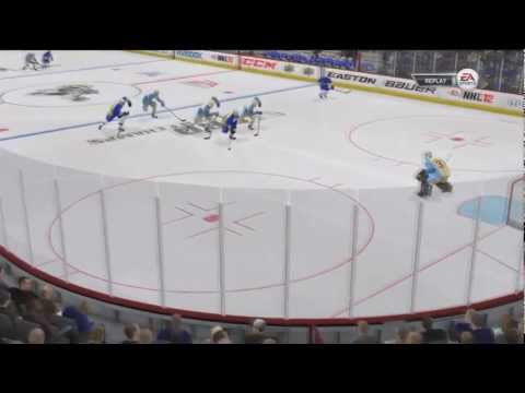 NHL 12 EASHL Ep 1 Period 2 Live Commentary