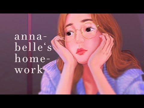 Alec Benjamin ~ Annabelle's Homework (Lyrics)