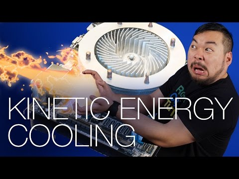 Samsung 850 EVO M.2, Kinetic CPU Cooler, FCC changes broadband - CES Day 3