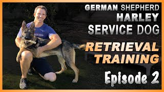 First Steps to Teach Your Service Dog a Retrieve. Episode 2