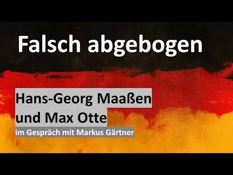 IM GESPRÄCH - Hans-Georg Maaßen und Max Otte fordern Augenmaß statt Fanatismus