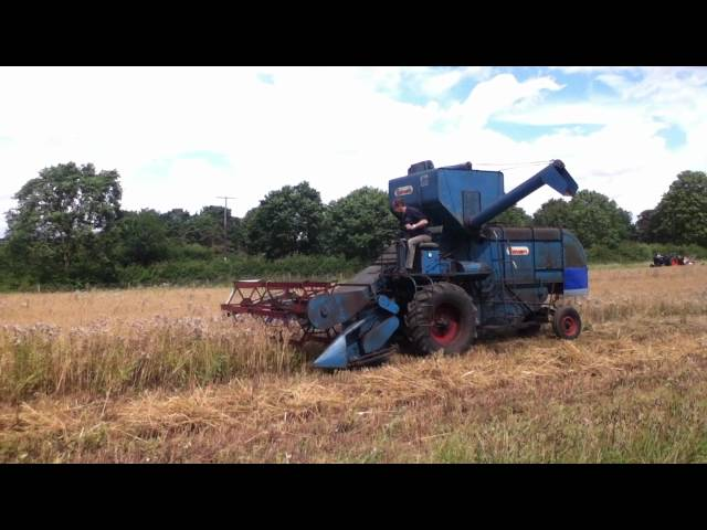 Ransomes 902 combine harvester