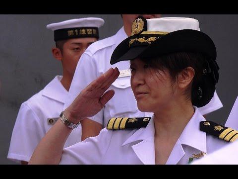 海上自衛隊 2代目女性艦長「せとゆき(瀬戸雪)」入港 TV-3518 'Setoyuki'