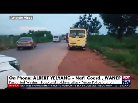 Breaking News: Purported Western Togoland soldiers attack Mepe Police Station - AM News  (25-9-20)