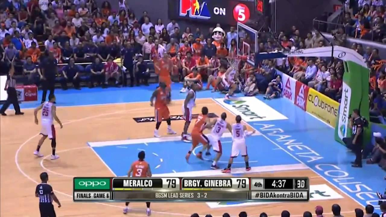 Meralco vs Ginebra Game 6 PBA Finals