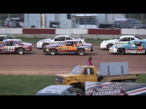 IMCA Stock Cars Heat #3 6/8/2018 @ Luxemburg Speedway