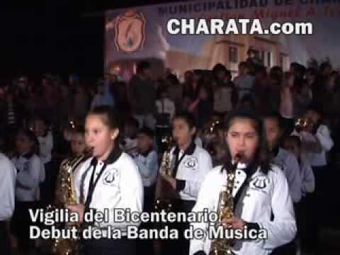 Debut de la Banda Municipal de Musica de Charata.