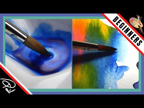Easy Watercolour Painting Ideas – How To Soften Edges