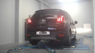 Peugeot 3008 2.0 hdi 150cv Reprogrammation Moteur @ 194cv Digiservices Paris 77 Dyno