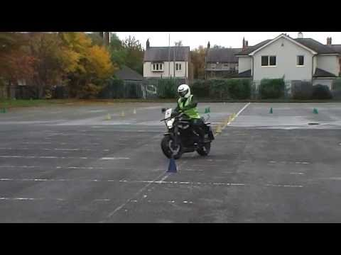 Slalom and Figure of Eight | ProBike Motorcycle Training Ltd