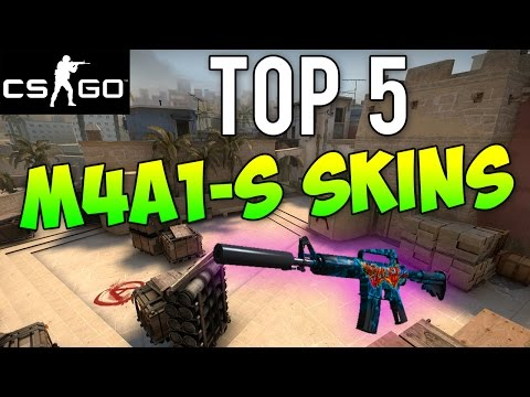 CS GO - Top 5 M4A1-S Skins!