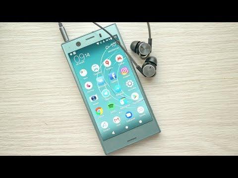 Обзор компактного флагмана Sony Xperia XZ1 Compact