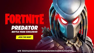 New PREDATOR Skin in Fortnite! (Season 5)