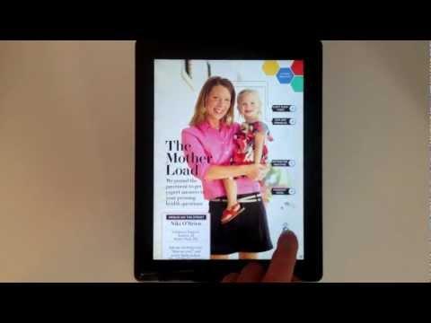 """""""WebMD"""" Mobile Tablet Health Magazine l Mag+"""