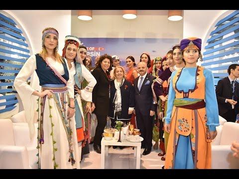 Travel Turkey İzmir 2016'da Mersin Standı İlgi Odağı Oldu