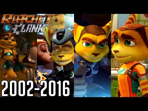 Ratchet & Clank ALL ENDINGS 2002-2016 (PS2, PS3, PS4, PSP)