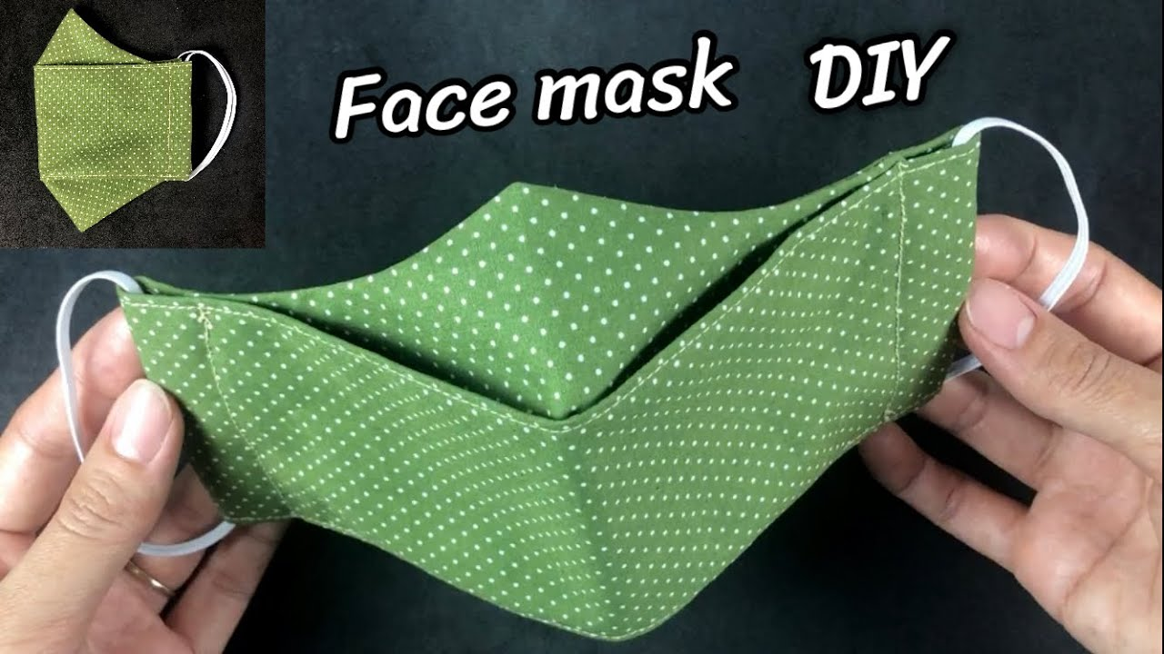 DIY 3D Face Mask | หน้ากาก 3Dหายใจสะดวก