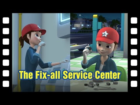 Tayo the fix-all service center l 📽 Tayo's Little Theater #44 l Tayo the Little Bus