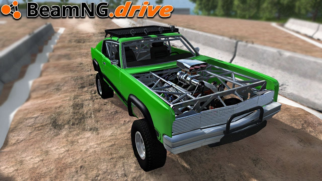 Beamng Drive Offroad Muscle Youtube