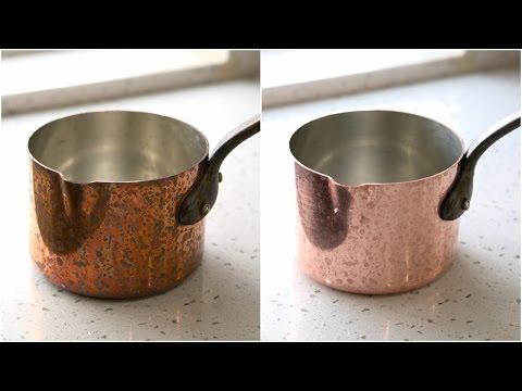 天然無毒清潔銅鍋法【琳達公主的廚房筆記】