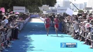 sprint javier gomez noya vs mario mola yokohama itu series 2014