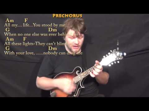 Drag Me Down (One Direction) Mandolin Cover Lesson in Am with Chords/Lyrics