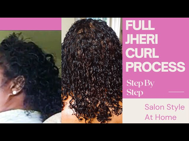How To Do A Jheri Curl Perm On 4c Hair Step By Step Litetube