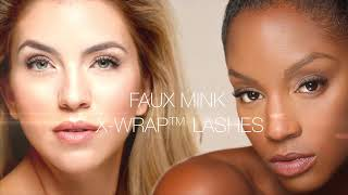 Get Voluminous Lashes with Faux Mink X-Wrap Eyelash Extensions