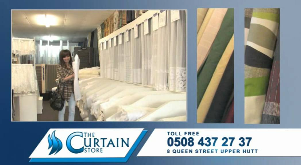 tv ads for curtain store