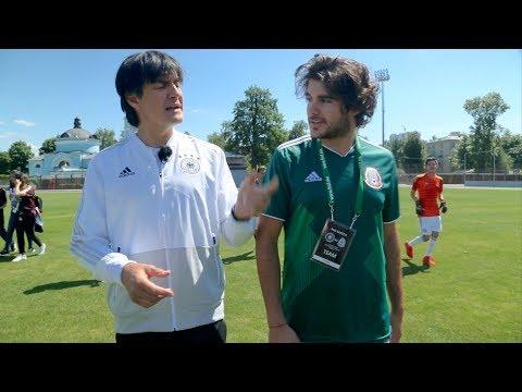 Jogi Löw spioniert bei Mexico-Training