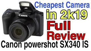 Canon powershot SX430 IS review | cheapest camera in 2019