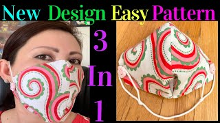 How To Make The Best Hand Sew Breathable Face Mask Face Mask Does Not Touch Your Nose Mouth