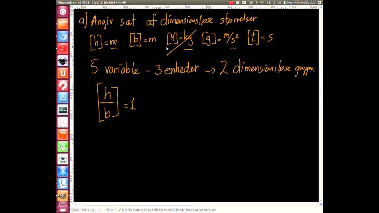 2013-01-04 Opgave 2. Skalerings argumenter