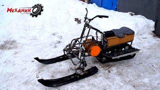 Никто не ожидал что ЭЛЕКТРО снегоход так поедет!!