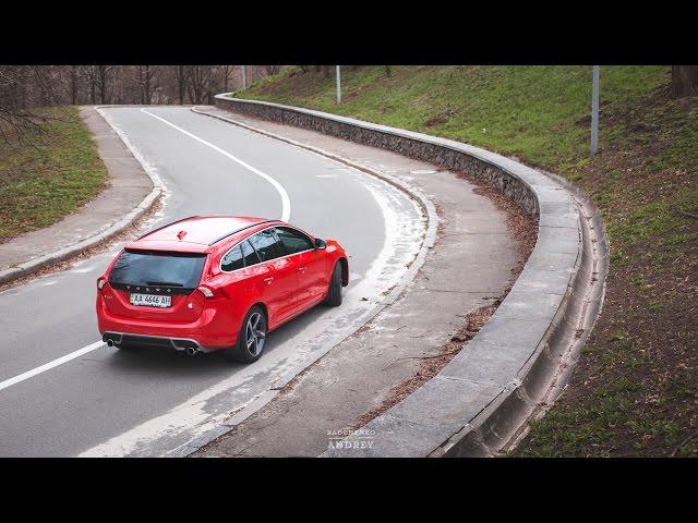 Тест-драйв Volvo V60 2015 (PRO100Drive)