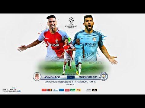 Monaco vs Manchester City | UEFA Champions...