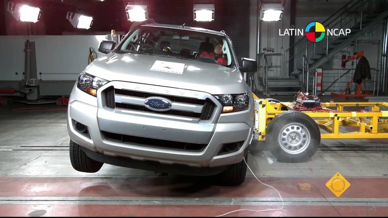 Ford ranger scores three stars